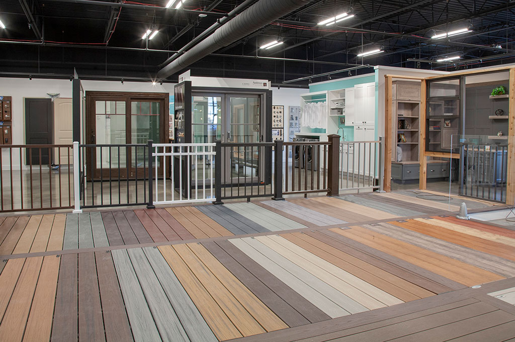 Showroom Tour – Decking & railing displays